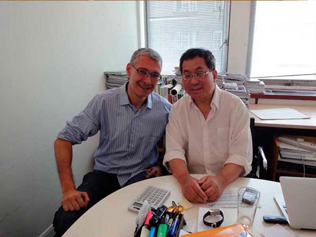 Luis De Garrido y Ken Yeang Londres