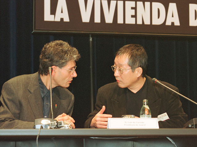 Luis De Garrido y Eisaku Ushida