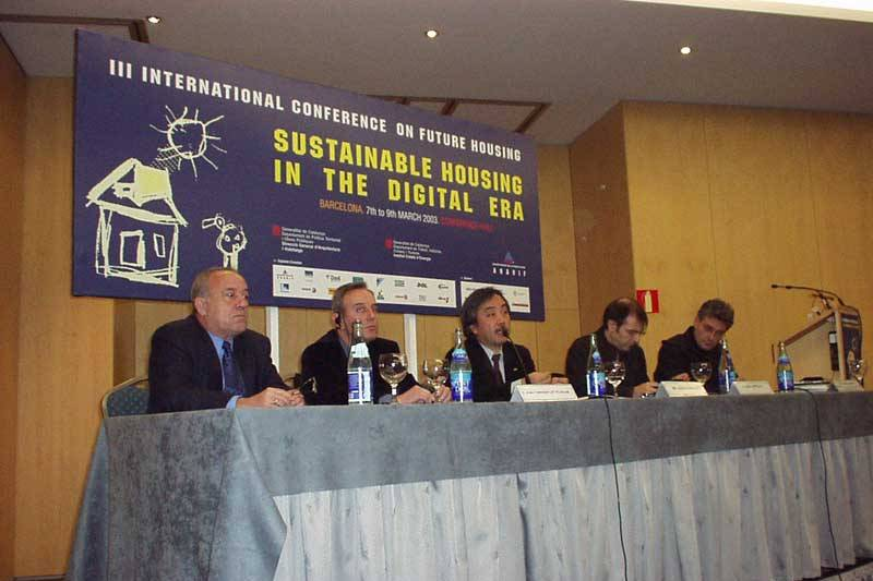 Congreso Mundial: 'Sustainable Housing in the Digital Era'. Barcelona